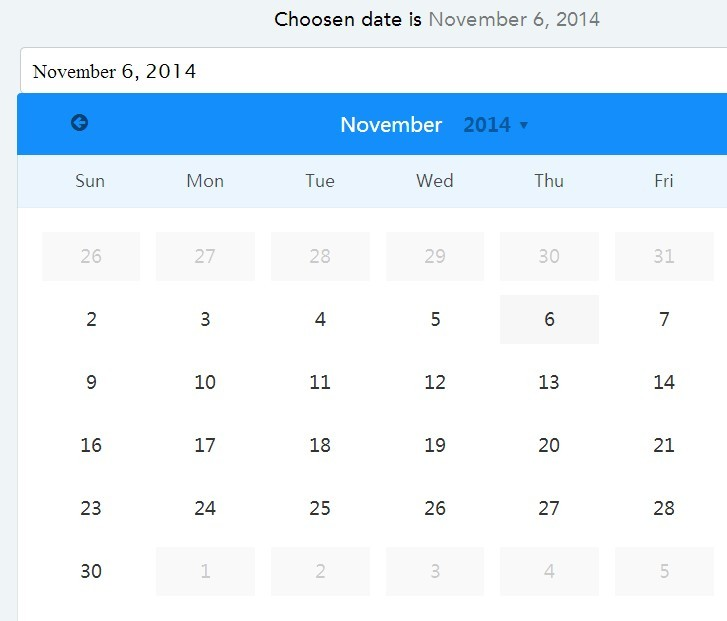 datepicker angular In the following post i will describe how to integrate jquery code with angular.