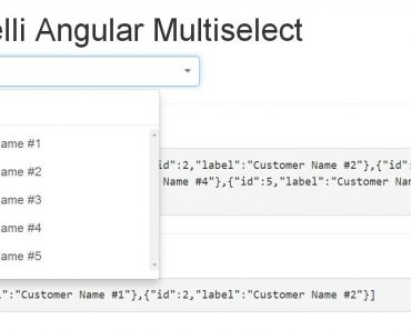 Multi Select Drop Down List Directive For AngularJS