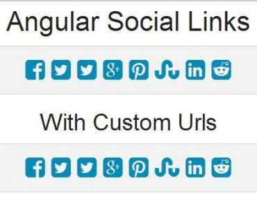 Social Sharing Links