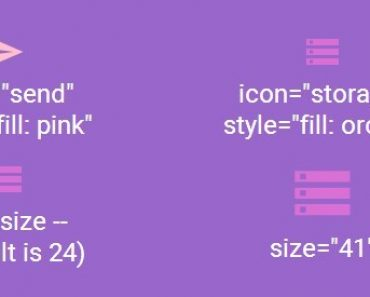 AngularJS Directive For Better Material Design Icons