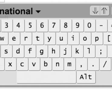 AngularJs Virtual Keyboard Interface