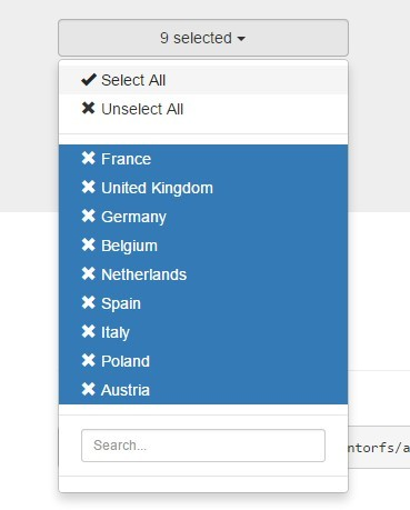 Bootstrap Multiple Select For AngularJS