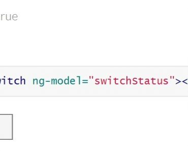 Toggle Switches For AngularJS