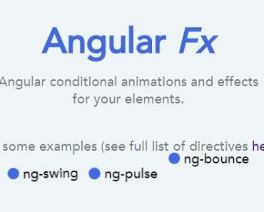Conditional Animations And Effects With AngularJS