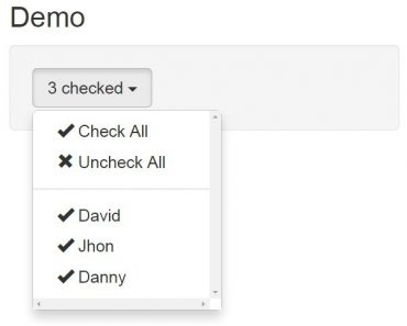 AngularJS Dropdown Multiselect Directive Basic DEMO