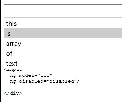 Angularjs Single or Multi Autocomplete
