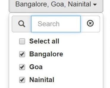 AngularJS Multiselect Dropdown
