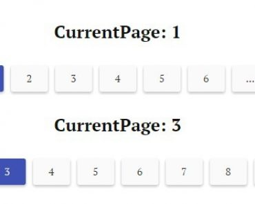Angular Material Pagination Component