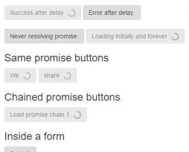 Chilled Loading Buttons For AngularJS