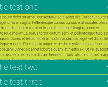 Simple Smooth AngularJS Accordion Directive