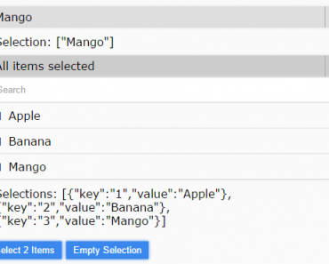 AngularJS Multiselect Dropdown Directive