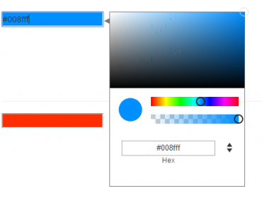Angular Multi-Input Color Picker
