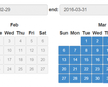 Native Angular Date Range Picker
