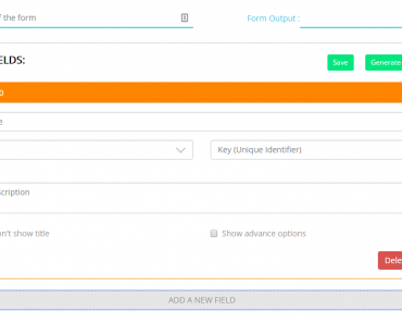 Schema Form Builder For AngularJS