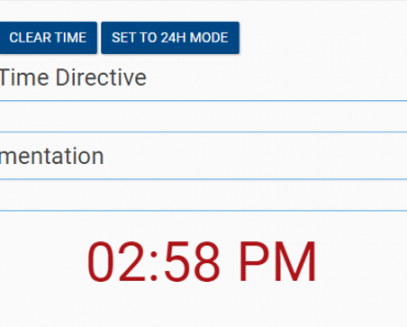 Small Angular Time Input Directive