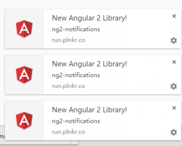 Angular 2 Directive for Native System Notifications