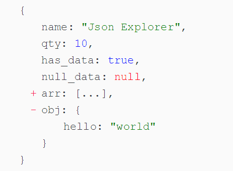 Simple JSON Explorer For Angular