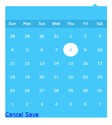 Datepicker for AngularJs 2