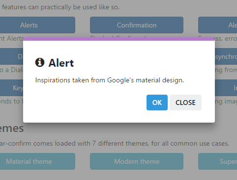 Alert confirm and dialog component for angular 2 for Angular 2 architecture