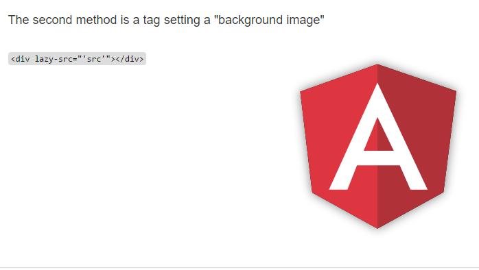 Angular Image lazy loader