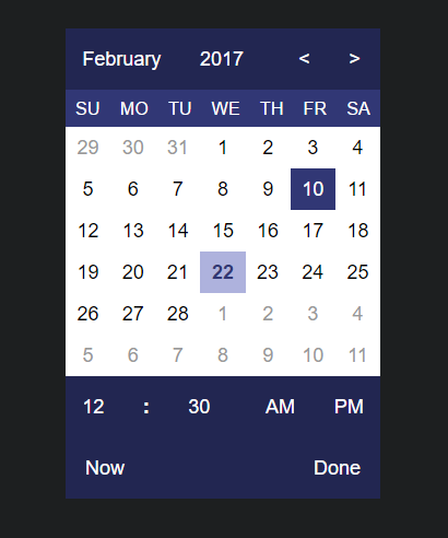 ngx-datetimepicker
