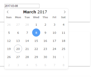 Angular 2+ Wrapper For Flatpickr Date Picker Library