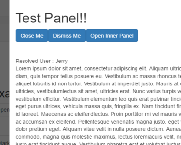 Angular Slideout Panel