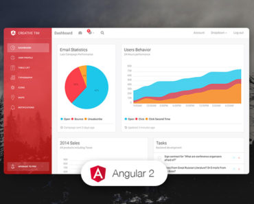 Light Bootstrap Dashboard Angular CLI