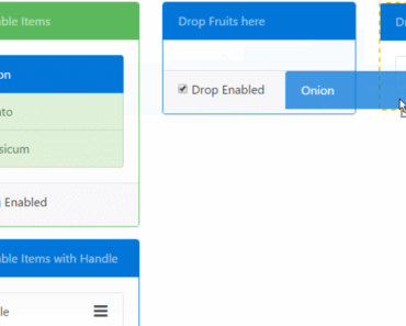 Easy HTML5 Drag And Drop Library For Angular