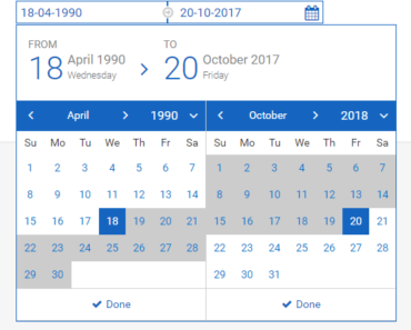 Angular 2 4+ Datetime Picker Component